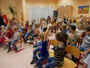 Verkehrspuppenbühne für die ersten Schuljahre @ Bürgerhaus